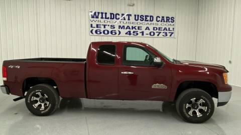 2013 GMC Sierra 1500 for sale at Wildcat Used Cars in Somerset KY