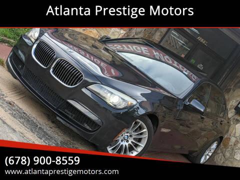 2011 BMW 7 Series for sale at Atlanta Prestige Motors in Decatur GA