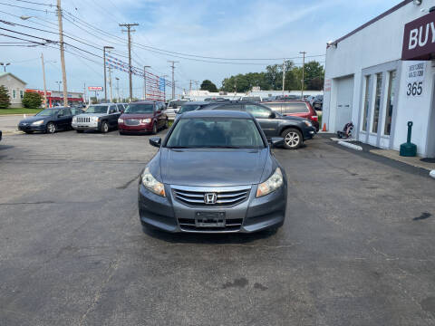 2011 Honda Accord for sale at Buyers Choice Auto Sales in Bedford OH