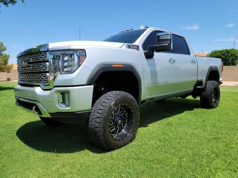 2020 GMC Sierra 2500HD for sale at AZ Work Trucks And Vans in Mesa AZ