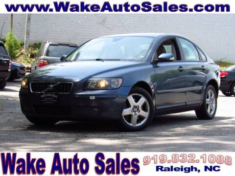 2006 Volvo S40 for sale at Wake Auto Sales Inc in Raleigh NC