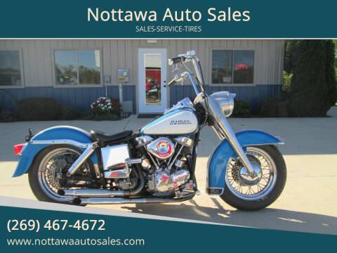 1959 Harley-Davidson Panhead for sale at Nottawa Auto Sales in Nottawa MI