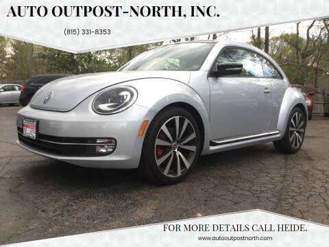 2013 Volkswagen Beetle for sale at Auto Outpost-North, Inc. in McHenry IL