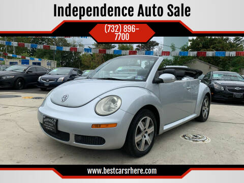 2006 Volkswagen New Beetle Convertible for sale at Independence Auto Sale in Bordentown NJ