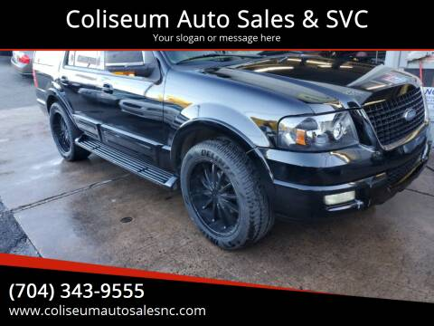 2003 Ford Expedition for sale at Coliseum Auto Sales & SVC in Charlotte NC
