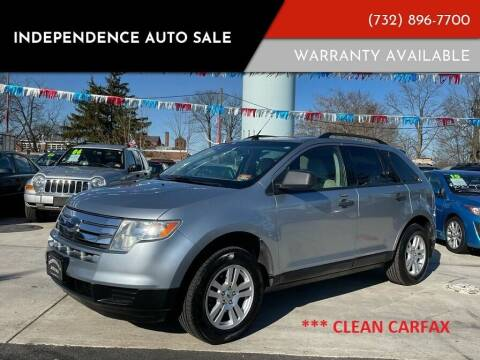 2007 Ford Edge for sale at Independence Auto Sale in Bordentown NJ