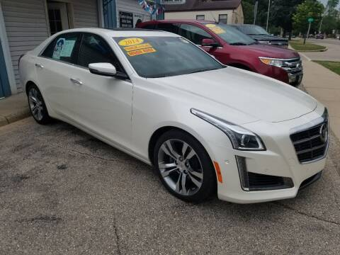 2014 Cadillac CTS for sale at CENTER AVENUE AUTO SALES in Brodhead WI