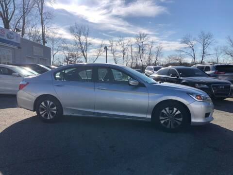 2014 Honda Accord for sale at Top Line Import of Methuen in Methuen MA