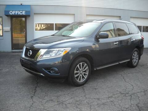 2014 Nissan Pathfinder for sale at Best Wheels Imports in Johnston RI