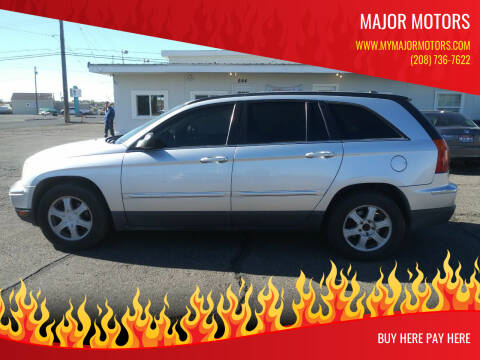 2005 Chrysler Pacifica for sale at Major Motors in Twin Falls ID