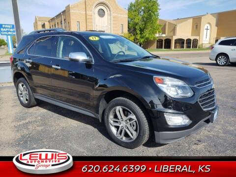2017 Chevrolet Equinox for sale at Lewis Chevrolet Buick of Liberal in Liberal KS