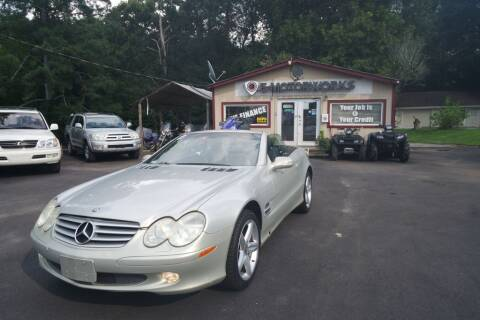 2003 Mercedes-Benz SL-Class for sale at E-Motorworks in Roswell GA