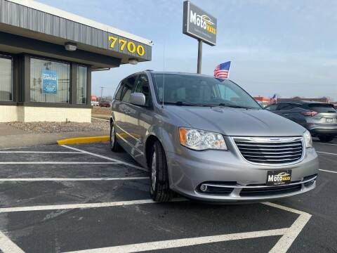 2015 Chrysler Town and Country for sale at MotoMaxx in Spring Lake Park MN