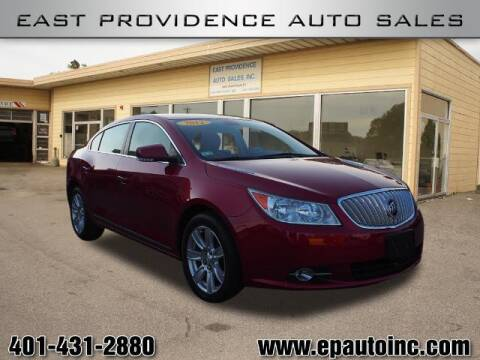 2012 Buick LaCrosse for sale at East Providence Auto Sales in East Providence RI