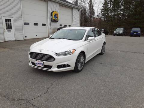 2014 Ford Fusion for sale at A-Plus Motors in Alton ME