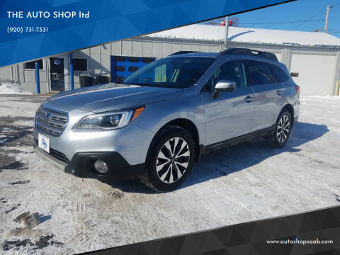 2016 Subaru Outback for sale at THE AUTO SHOP ltd in Appleton WI