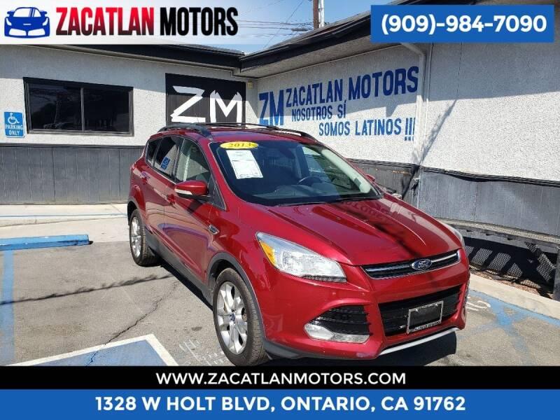 2013 Ford Escape for sale at Ontario Auto Square in Ontario CA