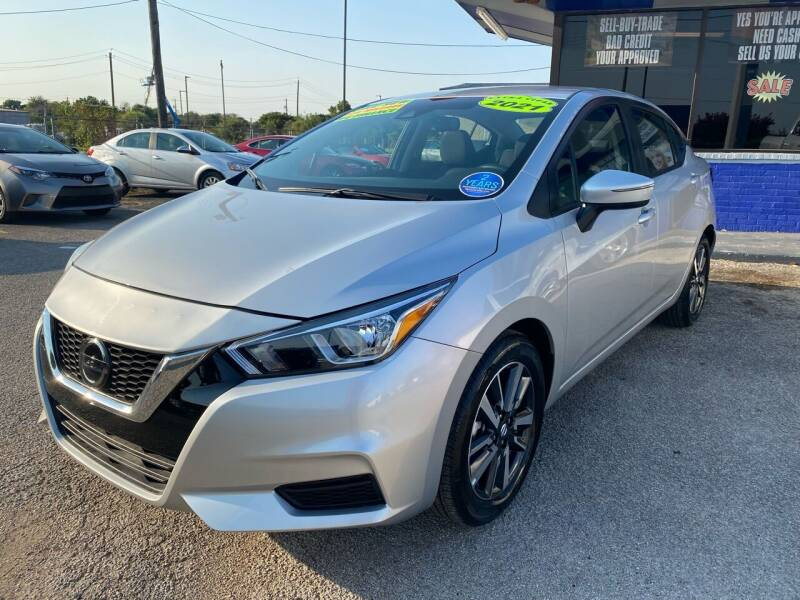 2021 Nissan Versa for sale at Cow Boys Auto Sales LLC in Garland TX