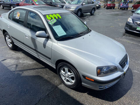 2005 Hyundai Elantra for sale at Pacific Point Auto Sales in Lakewood WA