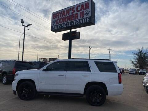 2016 Chevrolet Tahoe for sale at Bryans Car Corner in Chickasha OK