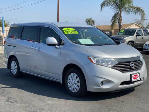 2014 Nissan Quest for sale at Esquivel Auto Depot in Rialto CA