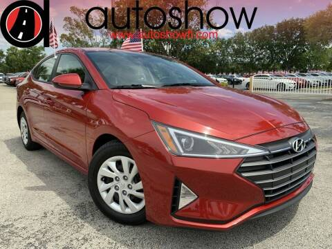 2020 Hyundai Elantra for sale at AUTOSHOW SALES & SERVICE in Plantation FL
