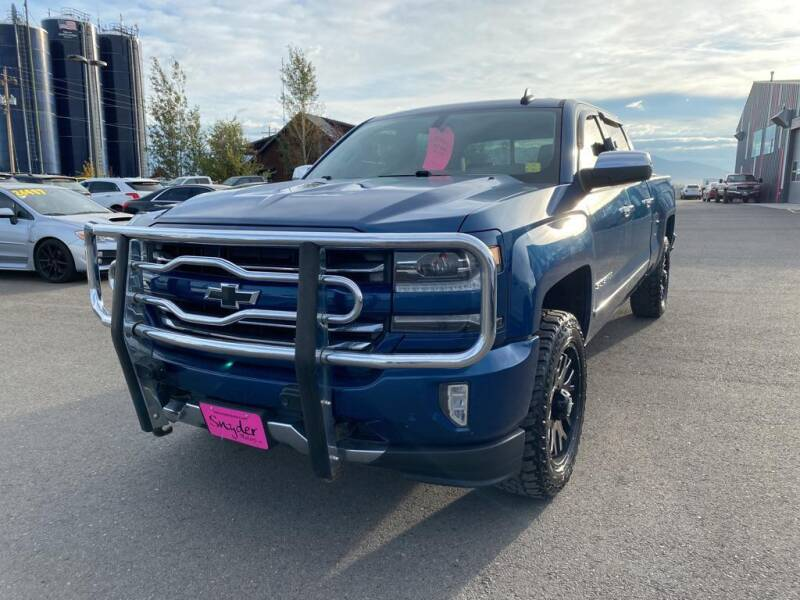2017 Chevrolet Silverado 1500 for sale at Snyder Motors Inc in Bozeman MT