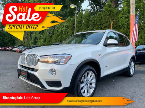 2017 BMW X3 for sale at Bloomingdale Auto Group - The Car House in Butler NJ
