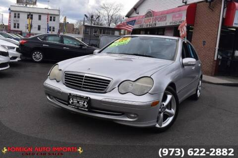 2004 Mercedes-Benz C-Class for sale at www.onlycarsnj.net in Irvington NJ