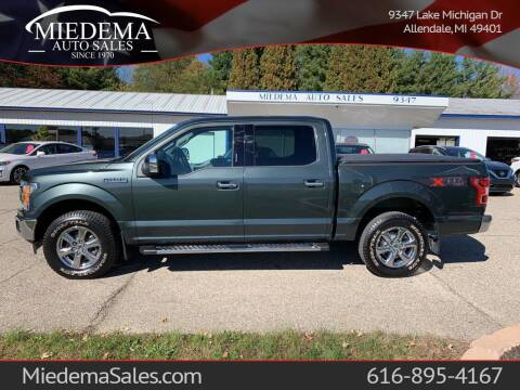2018 Ford F-150 for sale at Miedema Auto Sales in Allendale MI