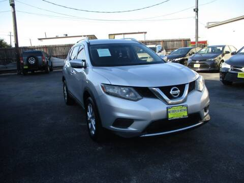 2015 Nissan Rogue for sale at Metroplex Motors Inc. in Houston TX