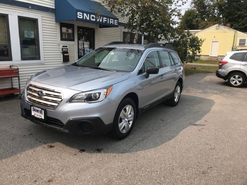 2015 Subaru Outback for sale at Snowfire Auto in Waterbury VT