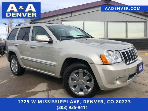 2008 Jeep Grand Cherokee for sale at A & A AUTO LLC in Denver CO