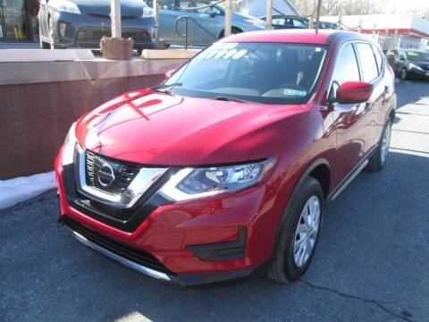 2017 Nissan Rogue for sale at WORKMAN AUTO INC in Pleasant Gap PA