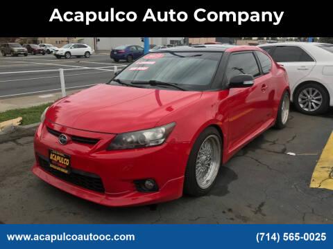 2013 Scion tC for sale at Acapulco Auto Company in Santa Ana CA