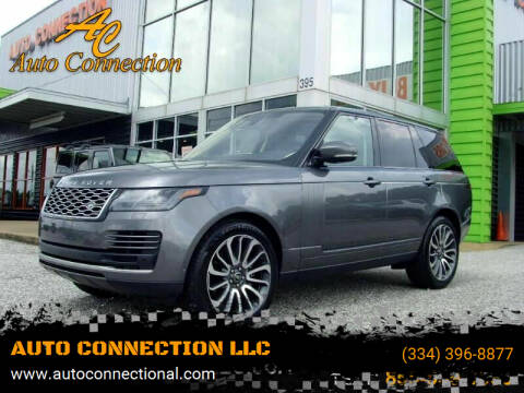 2019 Land Rover Range Rover for sale at AUTO CONNECTION LLC in Montgomery AL