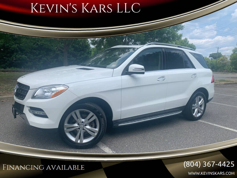 2015 Mercedes-Benz M-Class for sale at Kevin's Kars LLC in Richmond VA