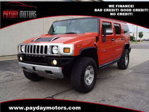 2008 HUMMER H2 for sale at Payday Motors in Wichita KS