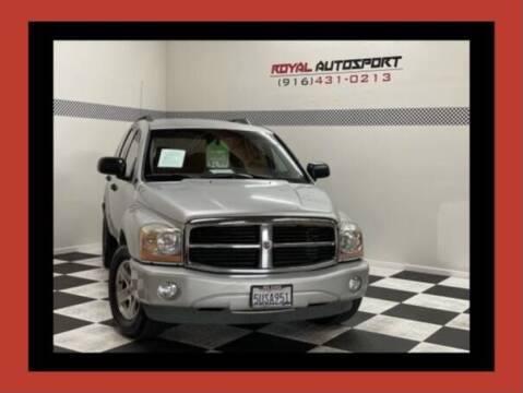 2006 Dodge Durango for sale at Royal AutoSport in Sacramento CA