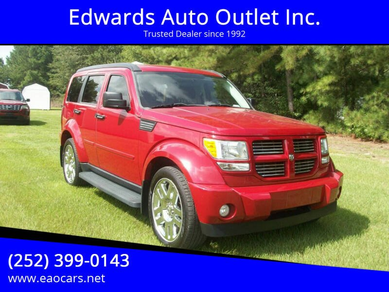 2011 Dodge Nitro for sale at Edwards Auto Outlet Inc. in Wilson NC