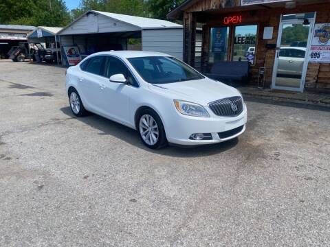 2015 Buick Verano for sale at LEE AUTO SALES in McAlester OK