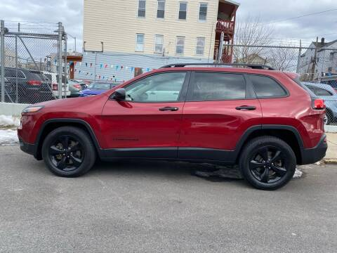 2016 Jeep Cherokee for sale at G1 Auto Sales in Paterson NJ