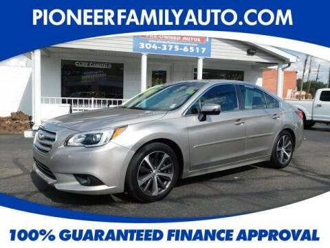 2017 Subaru Legacy for sale at Pioneer Family auto in Marietta OH