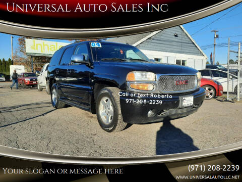 2004 GMC Yukon for sale at Universal Auto Sales Inc in Salem OR