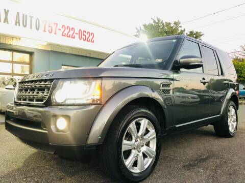 2014 Land Rover LR4 for sale at Trimax Auto Group in Norfolk VA