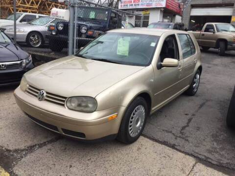 2002 Volkswagen Golf for sale at Drive Deleon in Yonkers NY