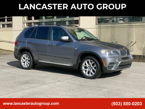 2011 BMW X5 for sale at LANCASTER AUTO GROUP in Portland OR