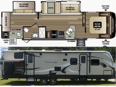 2019 Keystone Cougar 32RDB for sale at S & M WHEELESTATE SALES INC - Camper in Princeton NC