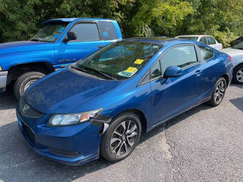 2013 Honda Civic for sale at Trocci's Auto Sales in West Pittsburg PA