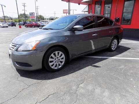 2015 Nissan Sentra for sale at Kelley Autoplex in San Antonio TX